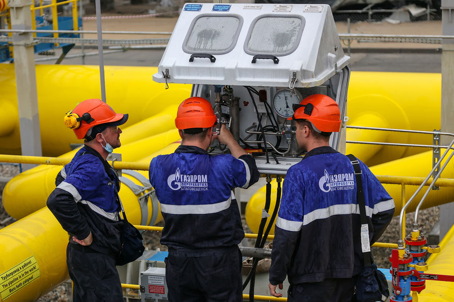 "Доходы «Р""азпрома» РѕС' экспорта газа резко возросли"