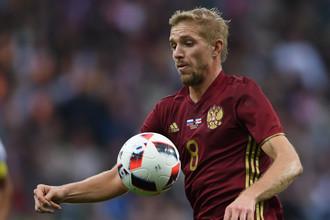 Сборная России встречается с национальной командой Кот-д'Ивуара в товарищеском матче