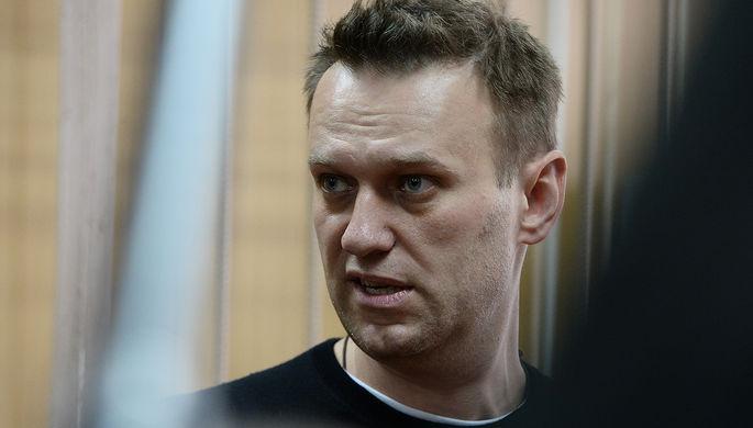 Алексей Навальный в Тверском районном суде города Москвы
