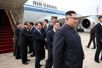 Лидер КНДР Ким Чен Ын в Синагпуре, 10 июня 2018 года