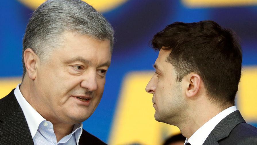 Зеленского обвинили в плагиате Порошенко
