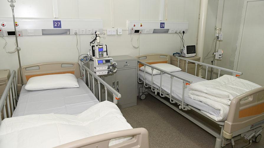 Палаты в новом госпитале в Ухане, 2 февраля 2020 года