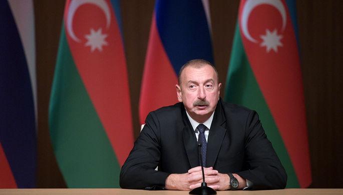 Президент Азербайджана Ильхам Алиев