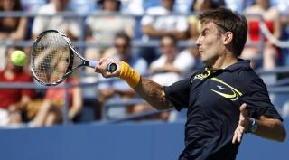Робредо в седьмой раз оступился в четвертом круге US Open