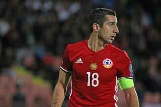Полузащитник сборной Армении Генрих Мхитарян