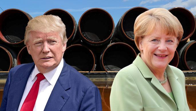 «Трамп был в ярости»: Меркель защитила «Северный поток — 2»