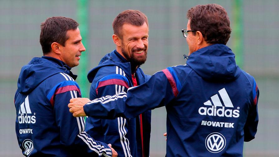 Экс-главный тренер сборной России поздравил Зенит с чемпионством и похвалил Семака