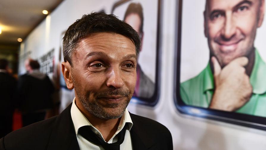 Актер Леонид Барац на премьере фильма «О чем говорят мужчины. Продолжение»