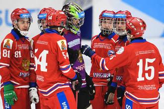 Сборная России по хоккею с мячом на Универсиаде