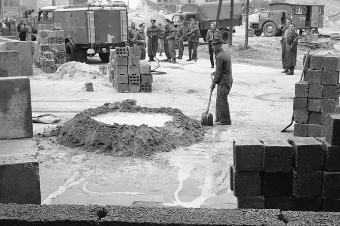 Строительство Берлинской стены, 18 августа 1961 года