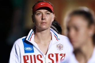 Мария Шарапова на Кубке Федерации