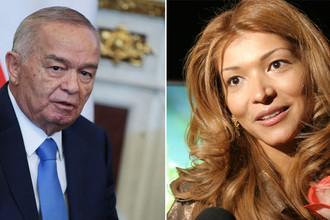 Ислам Каримов и Гульнара Каримова