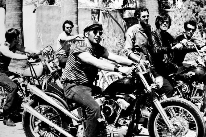 Актер Питер фонда в фильме «Дикие ангелы» (1966)