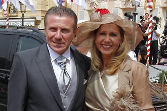 Сергей Бубка с женой