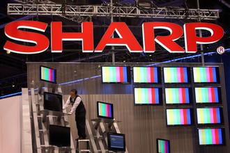 Cтоимость акций Sharp стремительно снизилась