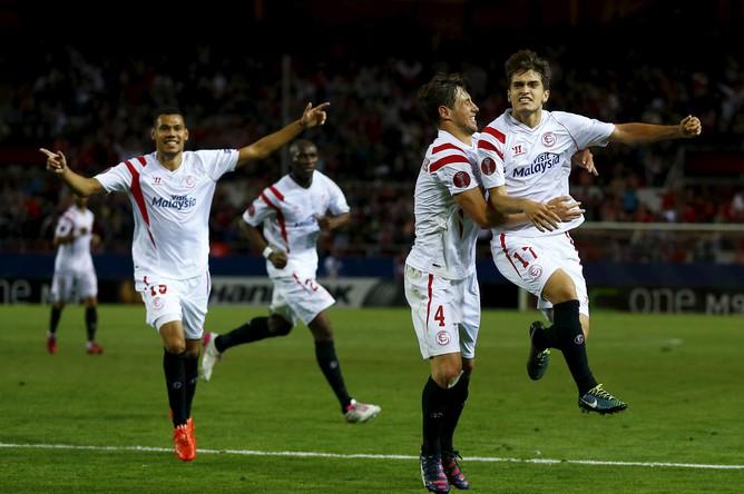 Денис Суарес принес победу «Севилье» над «Зенитом»