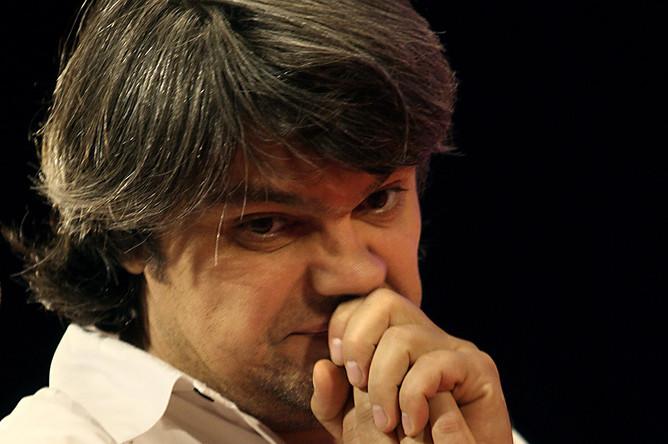 Василий Пичул на премьере своего фильма «Кинофестиваль», 2006 год
