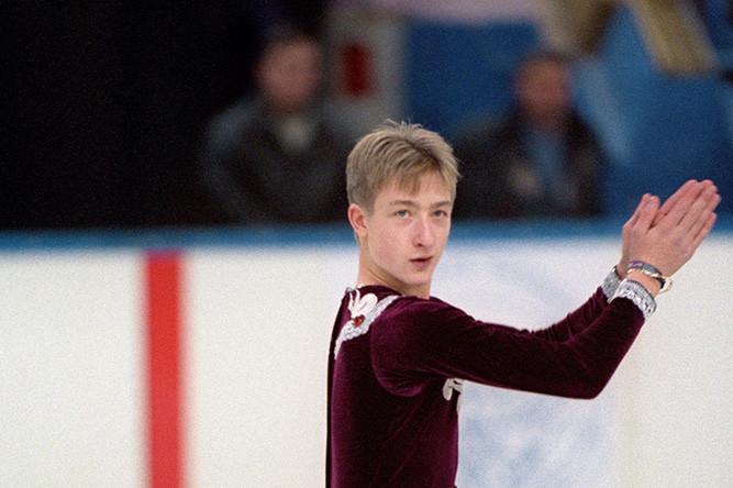 Евгений Плющенко на чемпионате России по фигурному катанию, 1997 год