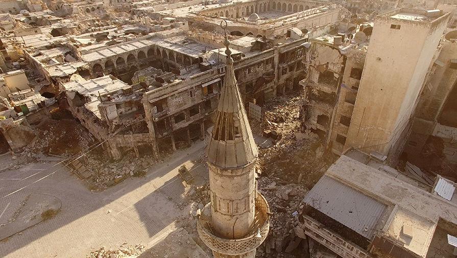 Алеппо снова в кольце