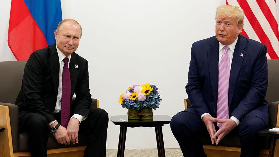Завершилась встреча Путина и Трампа
