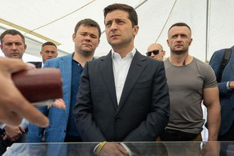 Рабочая поездка Владимира Зеленского в Херсонскую область, 13 июля 2019 года