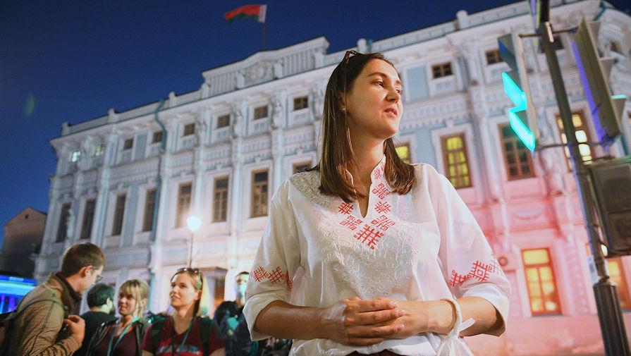 Люди, желающие проголосовать на выборах президента Белоруссии, у посольства Белоруссии в Москве, 9 августа 2020 года
