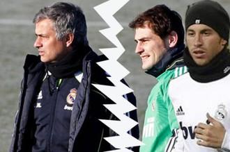 Испанский коллаж на тему отношений тренера «Реала» и его ведущих игроков