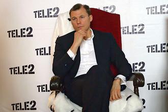 Президент и гендиректор Tele 2 Дмитрий Страшнов ушел из компании