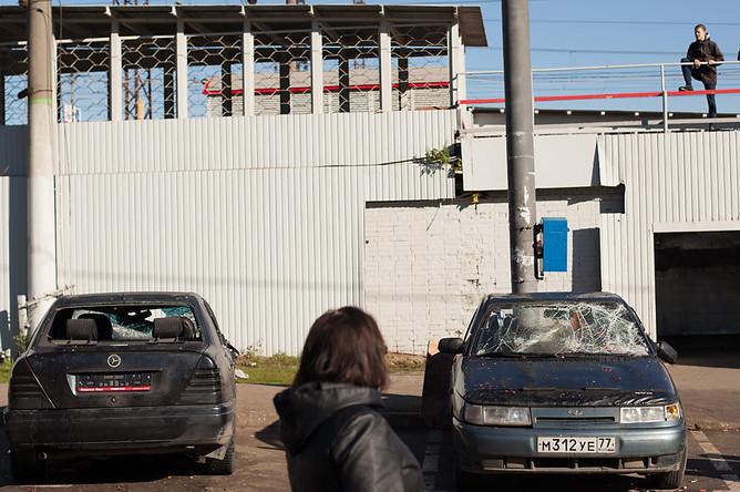 Несмотря на «постапокалиптическую» обстановку на станции «Бирюлево-товарная», местные жители рады отсутствию лиц неславянской внешности на улицах района