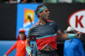 Испанец Рафаэль Надаль не без труда, но все-таки стал четвертьфиналистом Australian Open — 2014