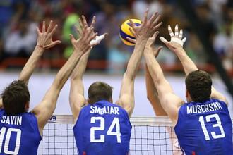 Сборная России по волейболу уступила Ирану