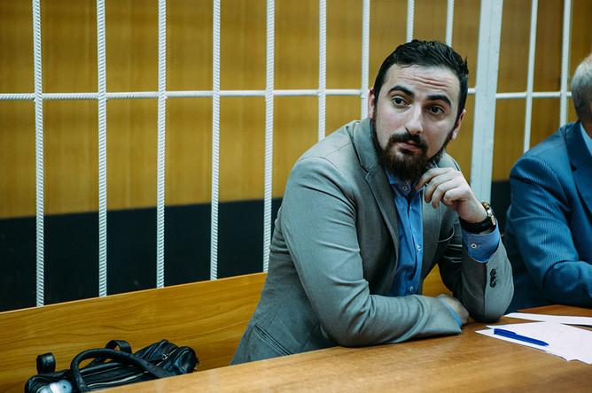 Дмитрий Цорионов (Энтео) в зале суда