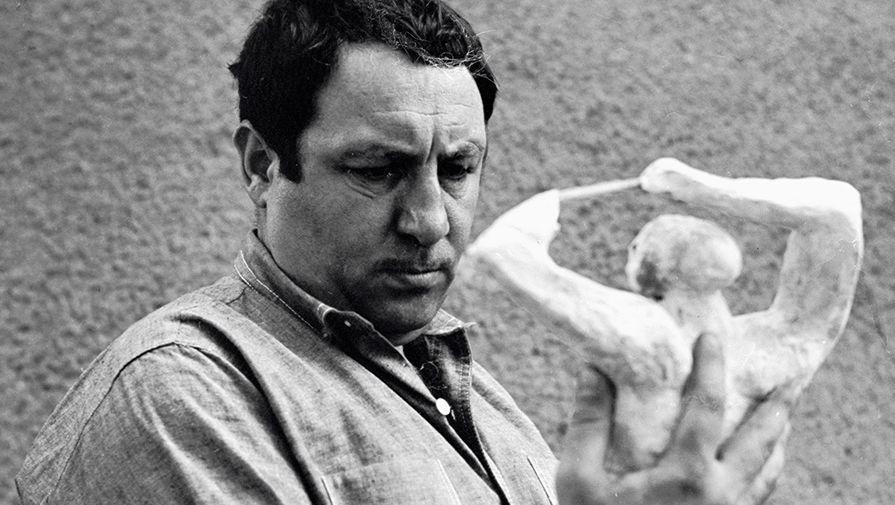 Эрнст Неизвестный, скульптор (9 апреля 1925 – 9 августа 2016)