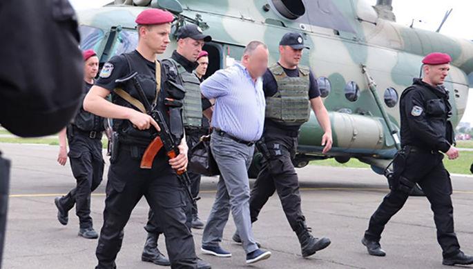 Украинских чиновников сдавали вертолетами