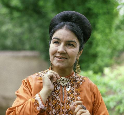 Народная артистка СССР певица Мая Кулиева, 1969 год