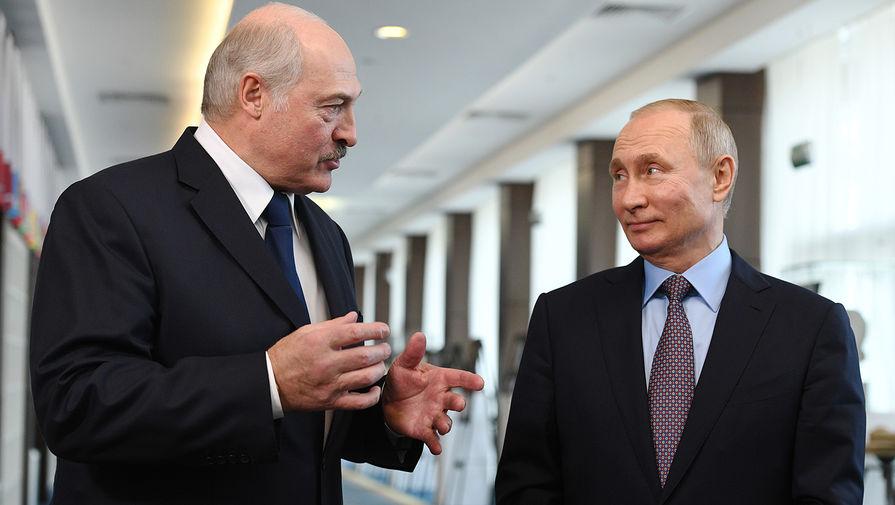 Путин обсудил с Лукашенко возвращение задержанных россиян под Минском