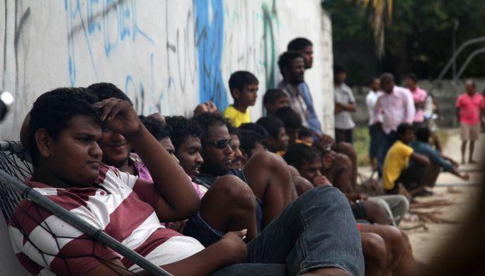 Коренные жители Мальдив