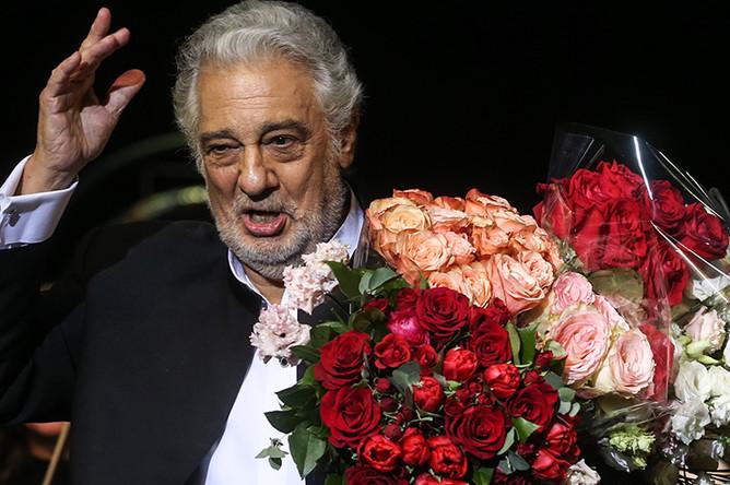 Пласидо Доминго после выступления в концертном зале «Крокус Сити Холл»