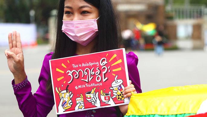 «Это — азиатская весна»: как молочный чай объединил борцов с Китаем