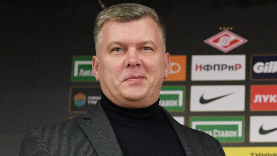 В Спартаке прояснили ситуацию с постом спортивного директора клуба