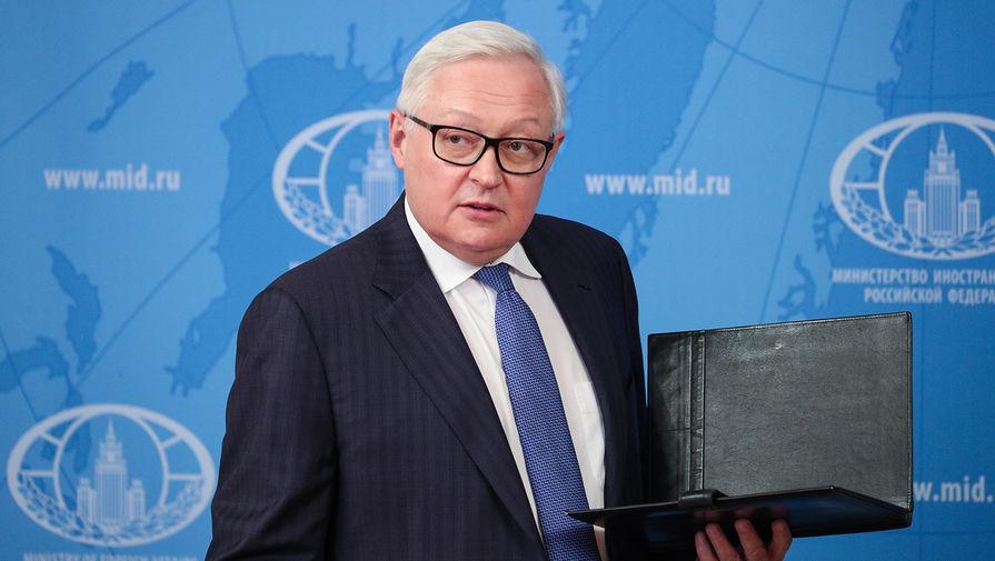 Рябков: Россия не вела контакты с США по Украине на уровне глав МИД и МО