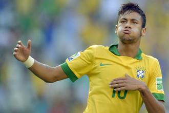 Неймар вновь забил гол за сборную Бразилии