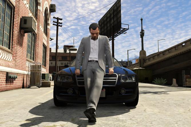 Cкриншот из игры GTA V