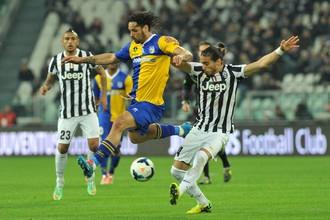 «Ювентус» одержал победу над «Пармой» в 30-м туре чемпионата Италии