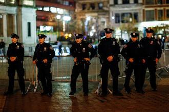 Сотрудники полиции Нью-Йорка