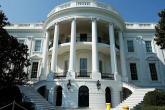 Ступени Южного портика Белого дома