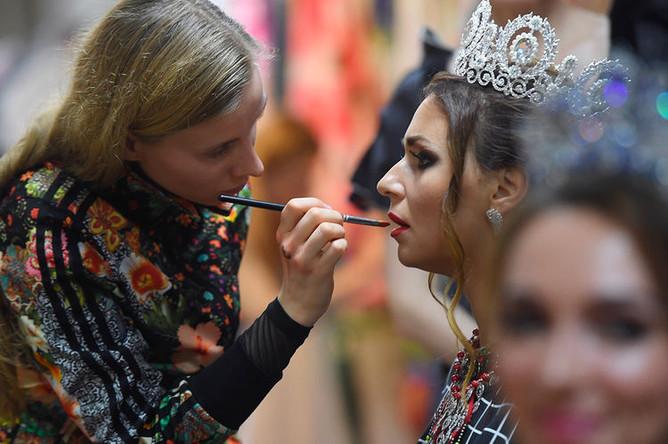 Участницы готовятся к финалу конкурса «Миссис Россия 2019» в Москве