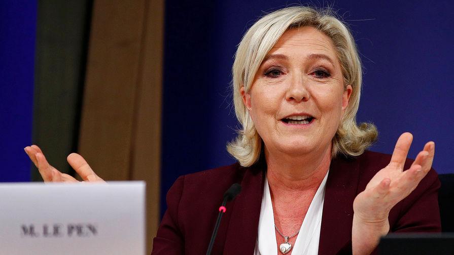 Марин Ле Пен, лидер французской политической партии «Народный фронт», кандидат в президенты Франции на выборах 2017 года