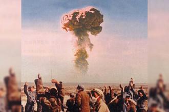 Первые ядерные испытания в Китае в 1964 году