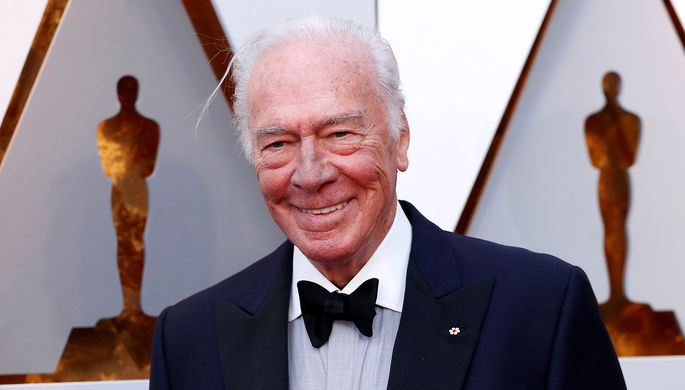 Кристофер Пламмер на 90-й церемонии вручения наград премии «Оскар», 2018 год